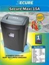 Mesin penghancur kertas Secure Maxi 15A