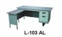 Meja Kantor Lion L 103 AL
